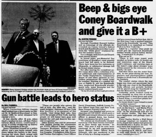 Beep & bigs eye Coney Boardwalk and give it a B+ -