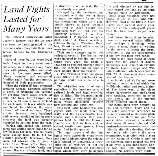 Land Fights -