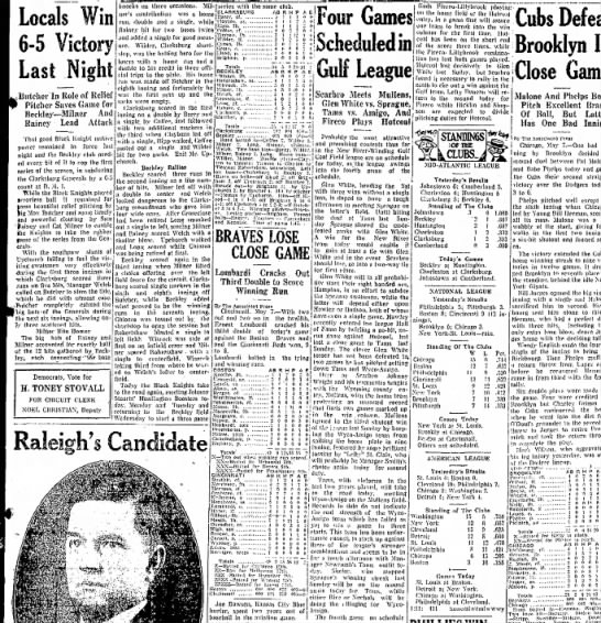 Clipping from The Raleigh Register - Newspapers com