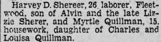 Myrtle Quillman -