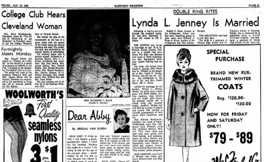 Lynda L Jenney of 1965 -