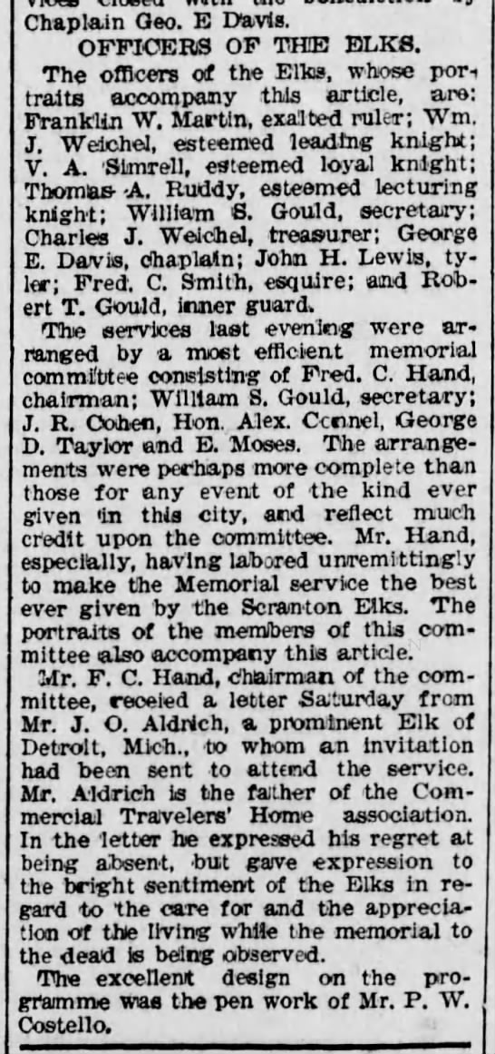 PWC Designed Elks Program Scr Rep Dec 7 1896 pg 6 -