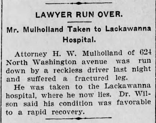 Henry Mulholland Gets Hit by Car -