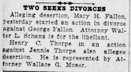 Mary Fallon starts divorce against George Fallon -