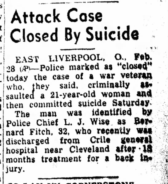 Attack Case Closed by Suicide -
