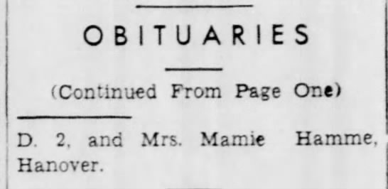 - OBITUARIES (Contin-aed From Page One) D 2, and...