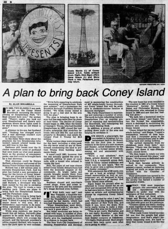 A plan to bring back Coney Island -