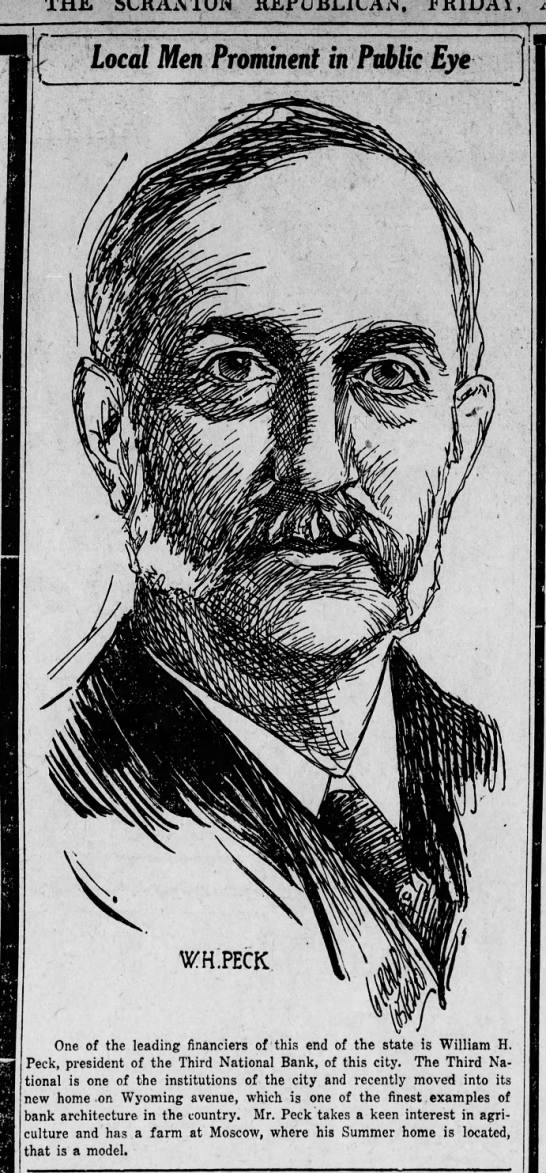 Jerry Costello Drawing W H Peck Scr Rep Aug 2 1918 pg 5 -