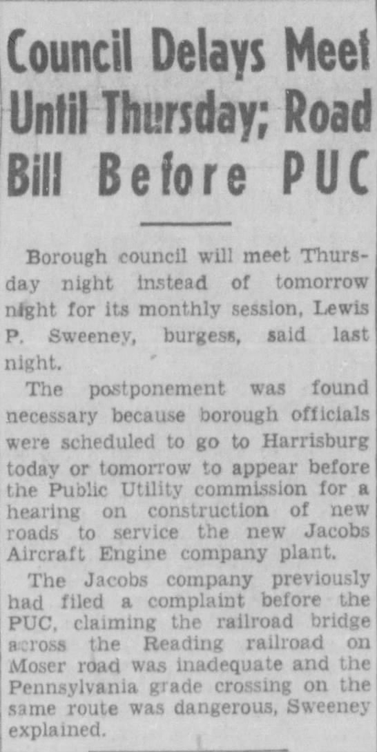 jacobs aircraft road application June 1, 1942 p 1 - Newspapers com