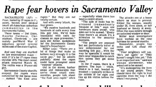 #206 EAR The Times Standard, Eureka, CA 3/25/1977. -