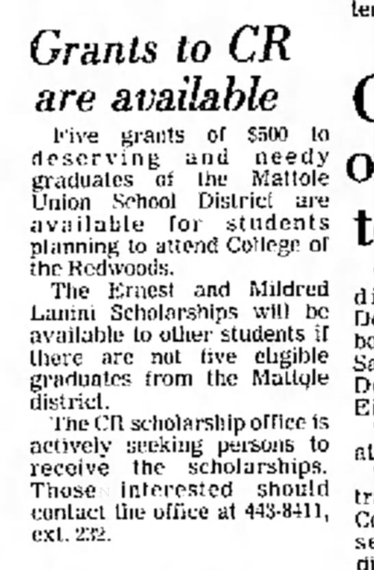 The Times Standard Eureka, Oct 11, 1977, page 10 -