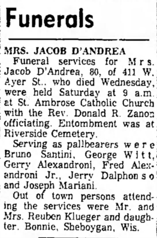 Ironwood Daily Globe, April 26, 1966, page two. -