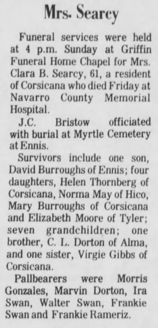 Corsicana Weekly Light (Corsicana, Texas) May 10,1979 -