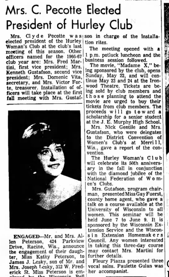 Ironwood Daily Globe, May 21, 1966, page 5 -