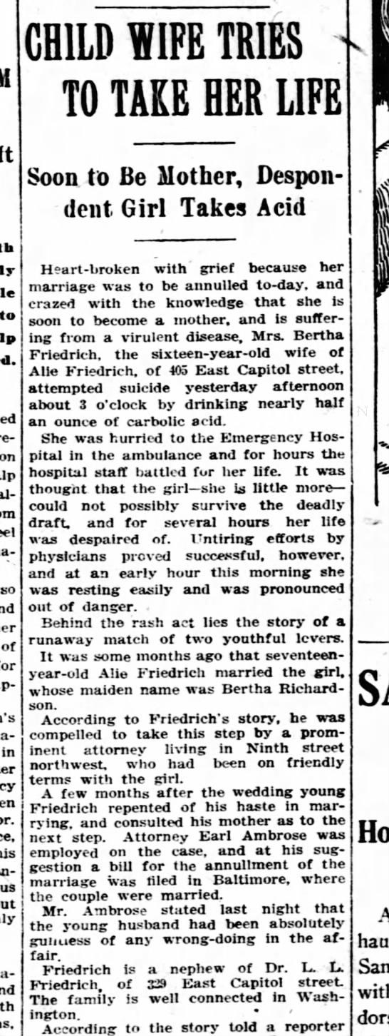 Bertha Richardson -