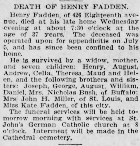 10-20-1905 henry fadden death -