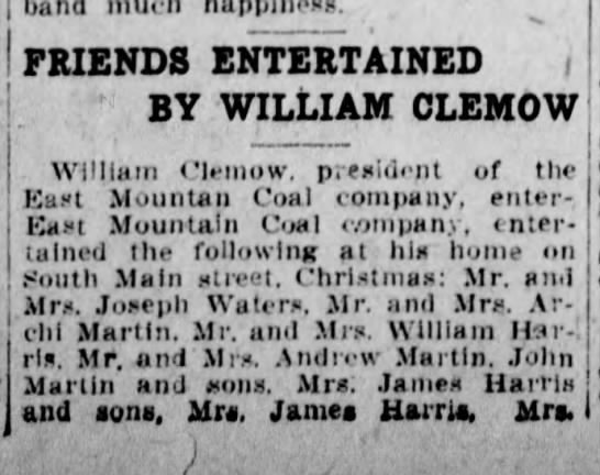 william clemow party 1907 1 -