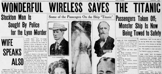 Wonderful Wireless Saves The Titanic -