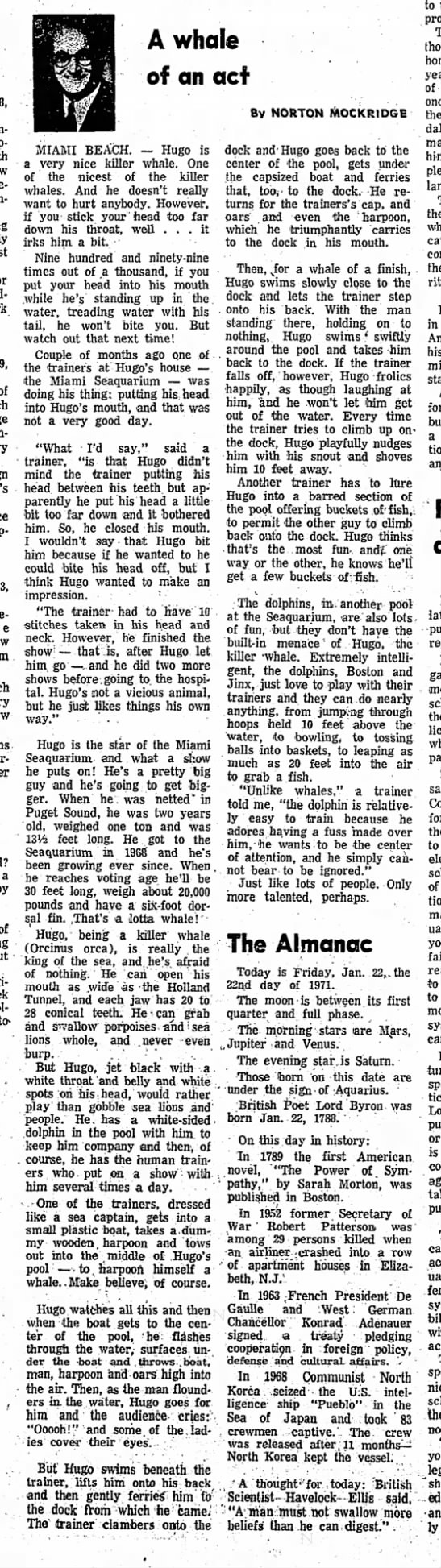 Redlands Daily Facts (Redlands, California) January 22, 1971 -