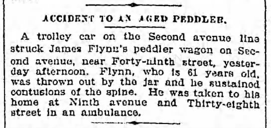 James Flynn Trolley Accident