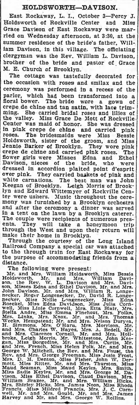 The Brooklyn Daily Eagel, Oct 3, 1902. Page 8 -