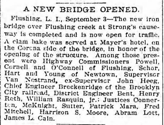 A New Bridge Opened -