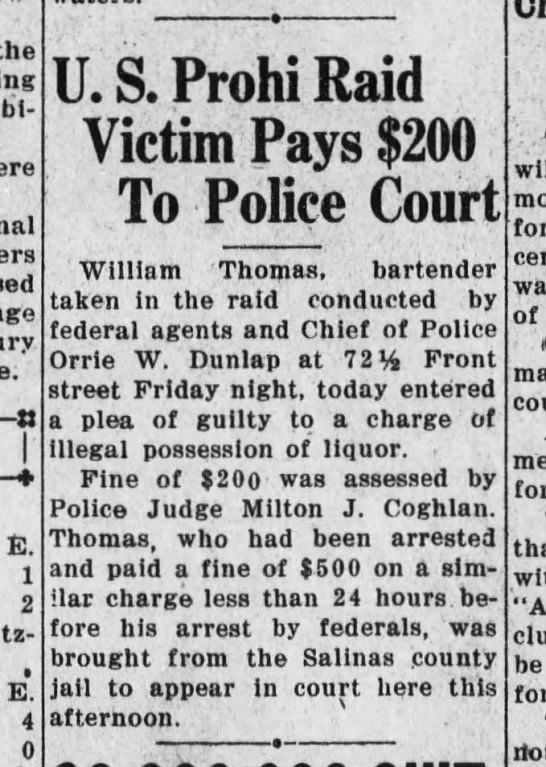 Santa Cruz Evening News, 13 September 1932, Page 1, Column 3 -