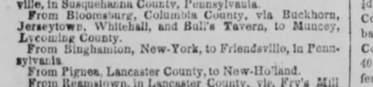 Bull's Tavern New-York Tribune 17 Mar 1851 -