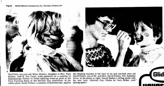 Face Painting  - Page2B NEWS-HERALD, Panama City, Fla.,...
