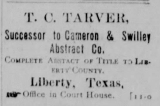 Tarver Abstract Title Co Newspapers Com