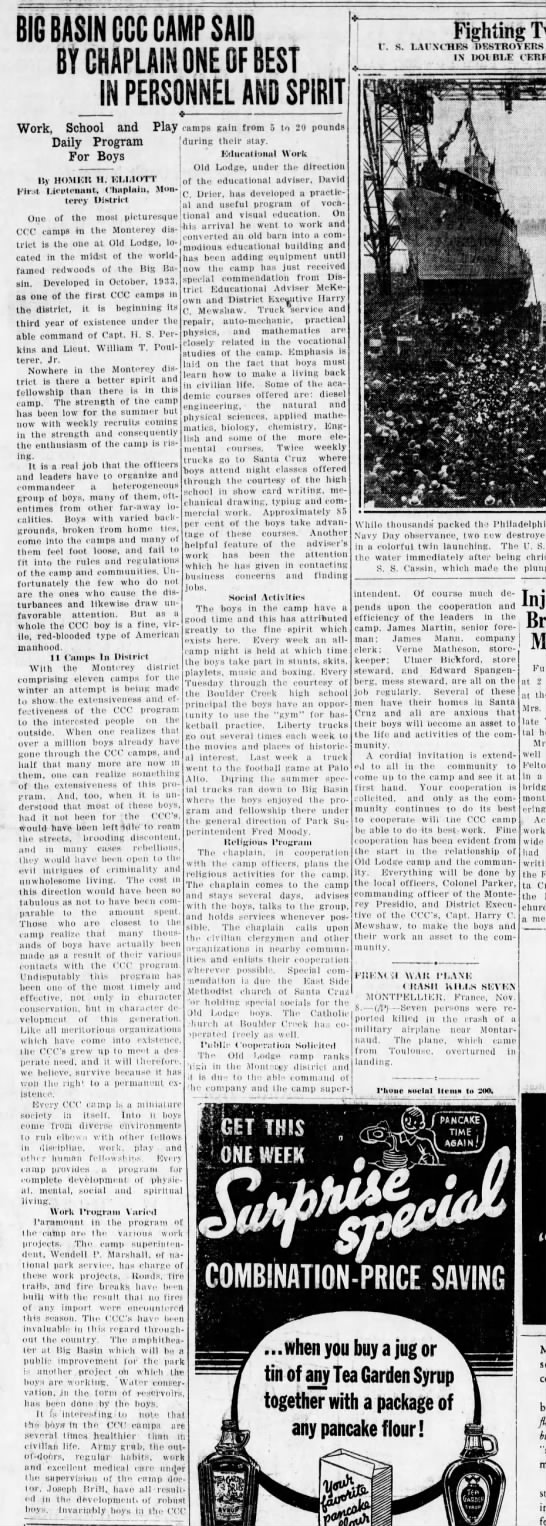 Evening News, 8 Nov 1935, Page 5, Col 1 -