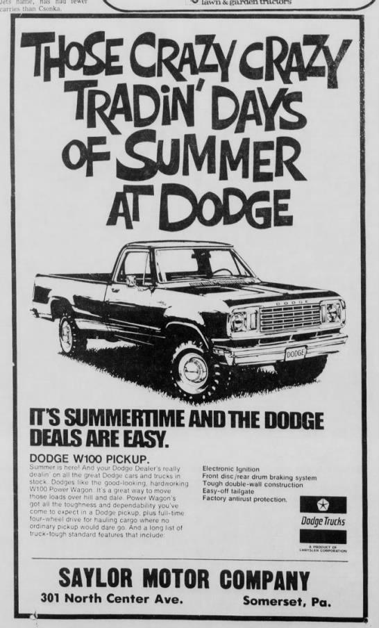 6 September 1977, Somerset Daily American -