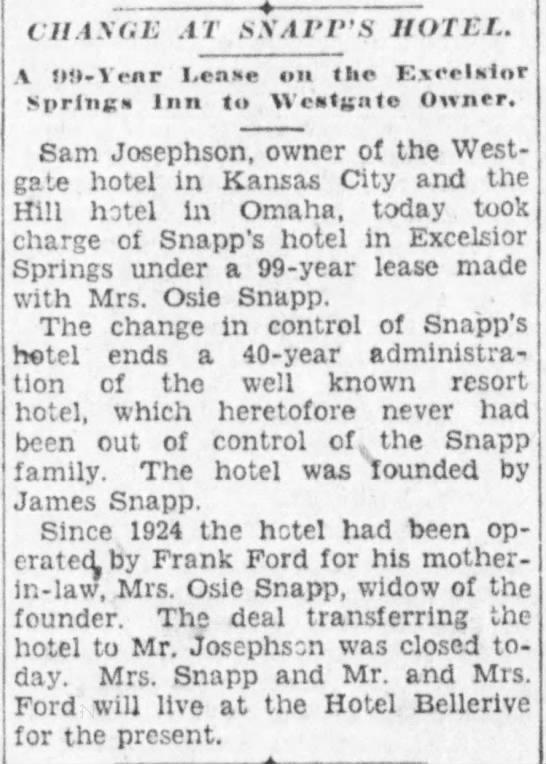 Snapp Hotel -