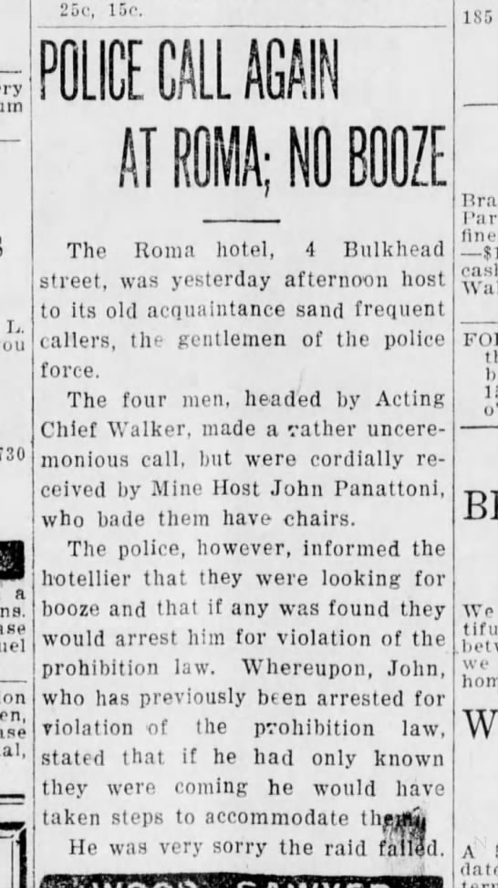 Santa Cruz Evening News, 20 August 1925, Page 7, Column 4 -