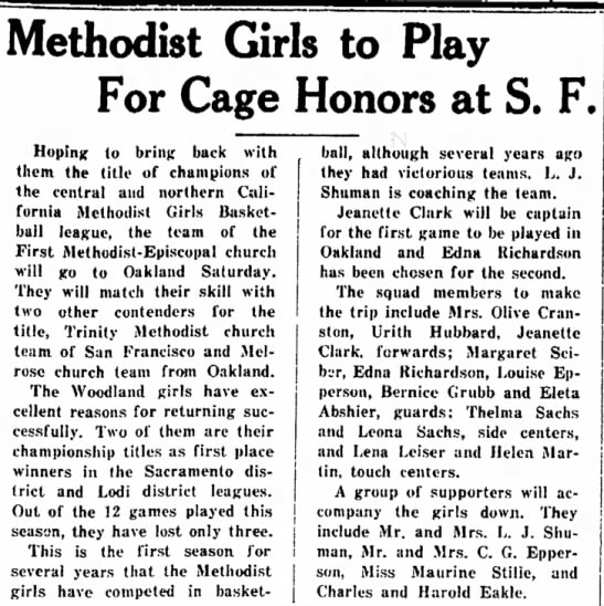- Methodist Girls to Play For Cage Honors at S....