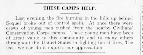 Sentinel, 19 Oct 1933, Page 8, Col 1 -