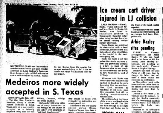 Mom hits ice-cream truck, July 1969 - Newspapers com