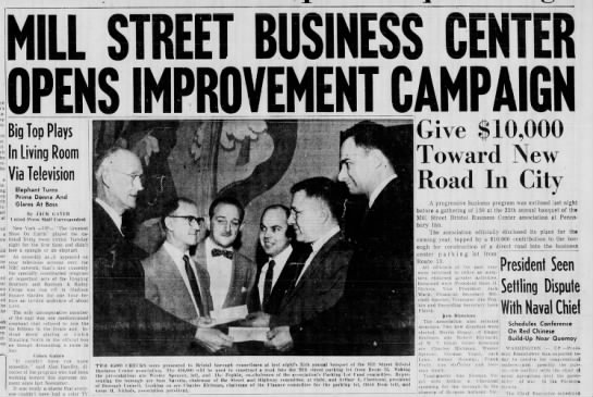 Mill Street Business Center 3/30/1955 Pg 1 of 2 -
