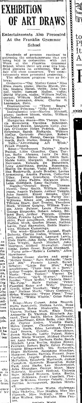 Arthur Pierson - elementary school, DE County Daily Times, page 4, 4 Nov 1915 -