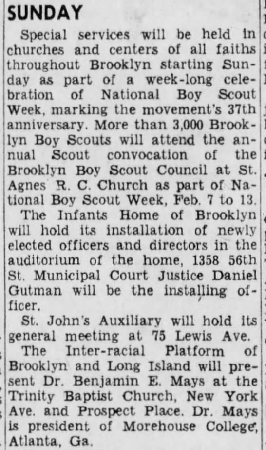 TBC in the news - 2/8/1947 -