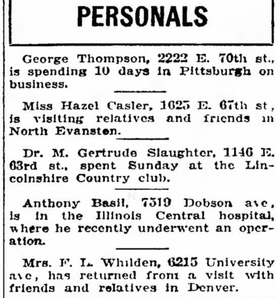 Southtown Economist (Chicago, Illinois) 17 January 1930, Page 9 -