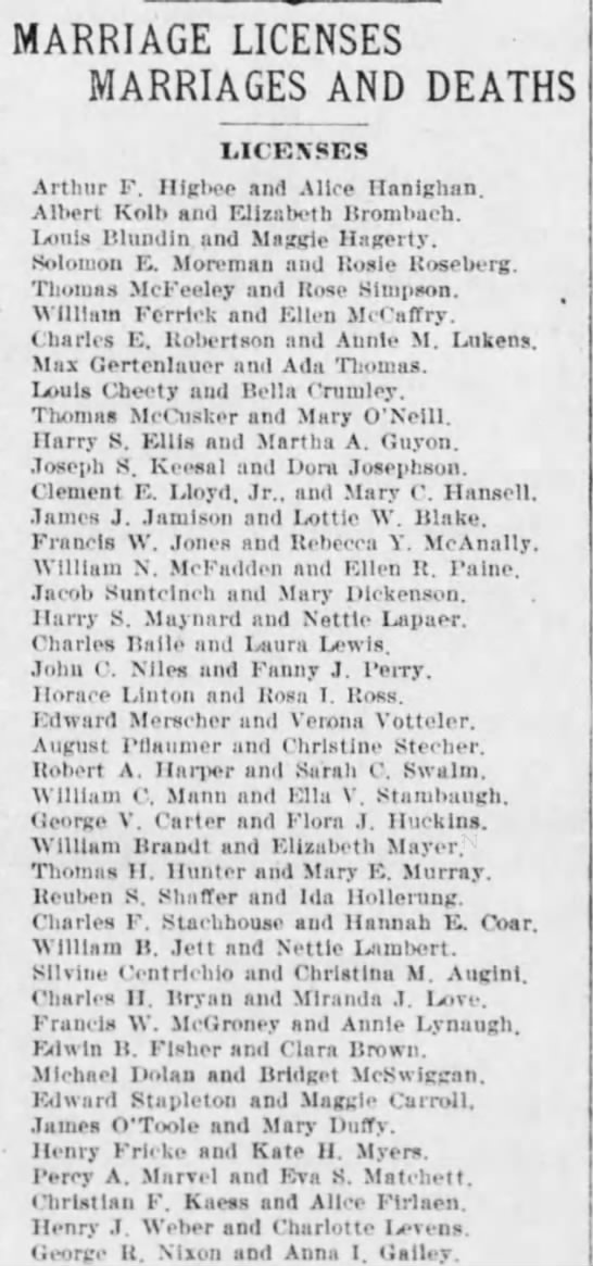 The Times Philadelphia Pennsylvania  9 Nov 1899 Pg 11 -