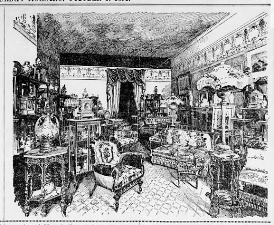 "Exhibition of ""furnishing art"" 1891 -"