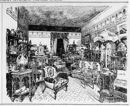 "Exhibition of ""furnishing art"" 1891 -"