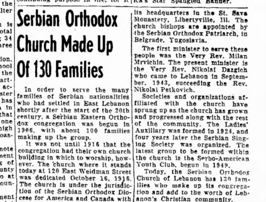 Serbian Church Rev Dazgich -