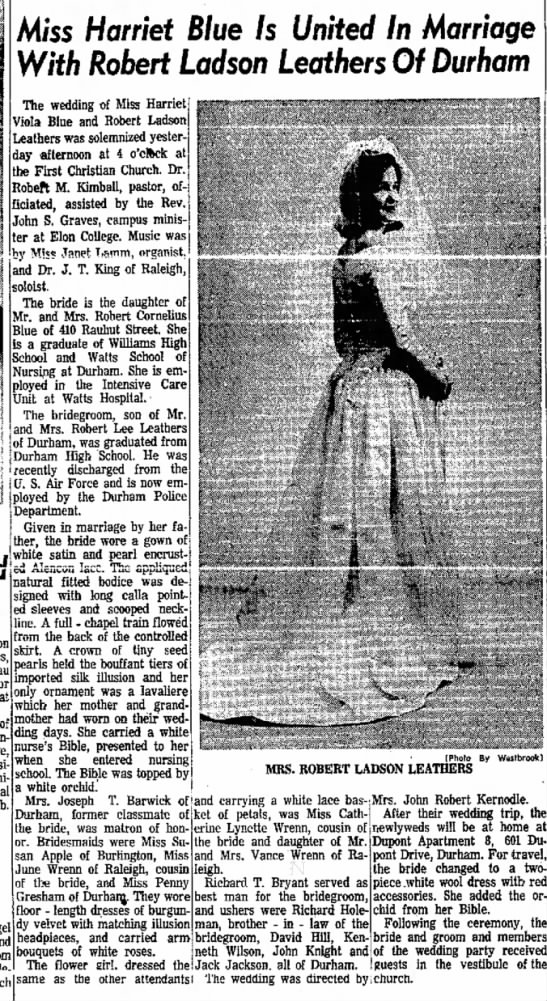 The Daily Time-News (Burlington, NC) Jan. 16, 1967, page 5 -