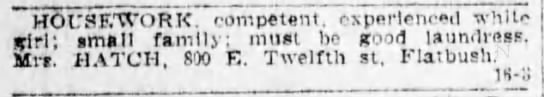 1908-4-17 800 E 12th ad for housework -
