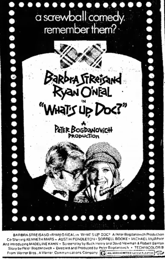 Sorrell Booke in What's Up Doc -