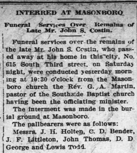 Wilmington Messenger Tuesday Dec 17 1907 -