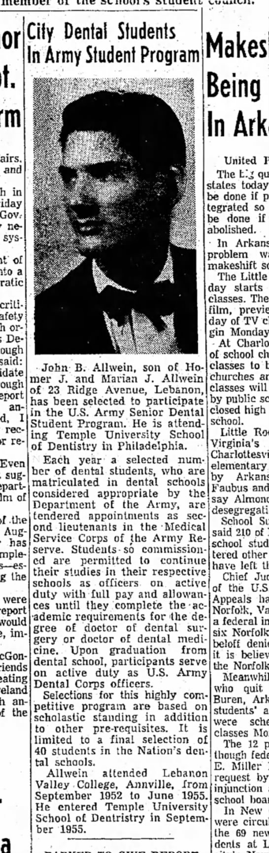 1958 September 20 John B. Allwein -
